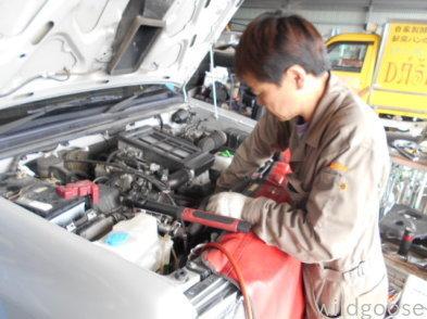 JB23ジムニー 車検整備中(^-^)_c0213517_12150958.jpg