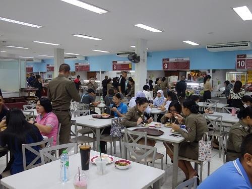 警察本部の食堂にてカオモックガイヤーン_c0030645_00201456.jpg