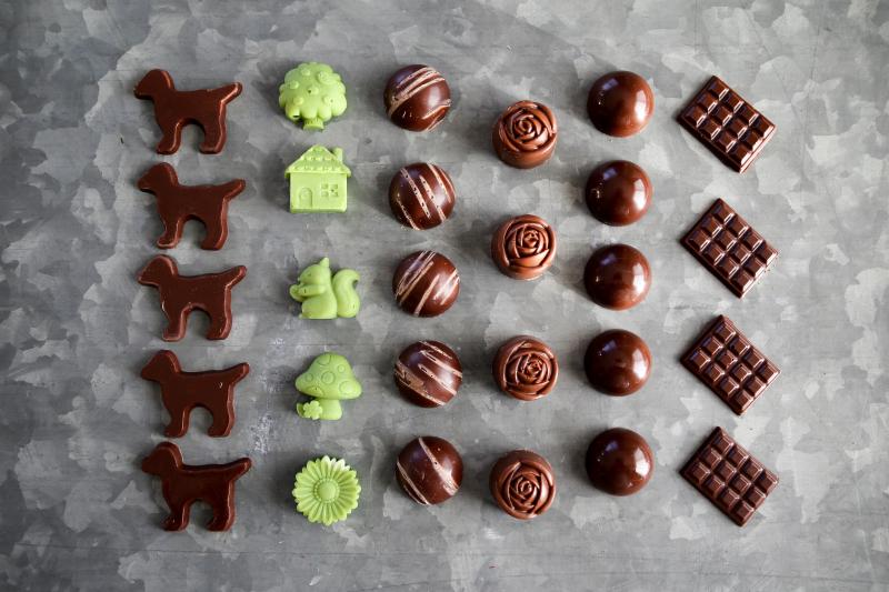 チョコレートの行列と 撮影の行列_d0034447_18022579.jpg