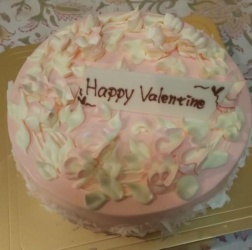 ハッピーバレンタインイヴ#山田パンダ大好きなバタークリームケーキ#シェリュイ・グランマニエ_b0096957_19501649.jpg