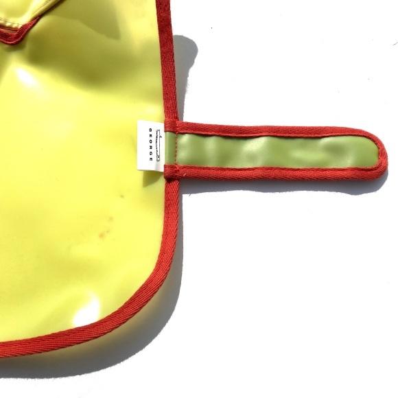 GEORDE frosted jelly raincoat ジョージ フロステッド ゼリー レインコート_d0217958_19320800.jpeg