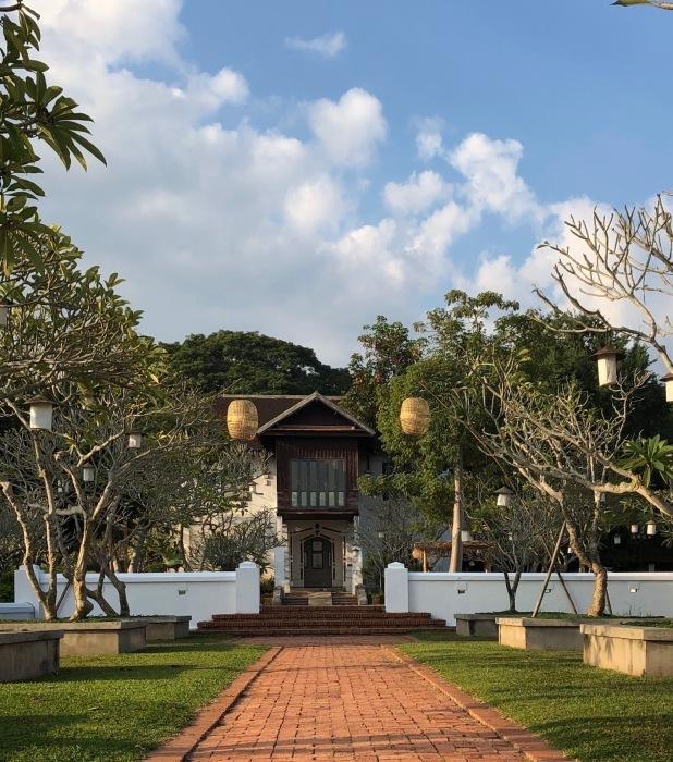 ラオスの旅 25  ルアンパバーンのホテル The Grand Luang Prabang_a0092659_20001033.jpg