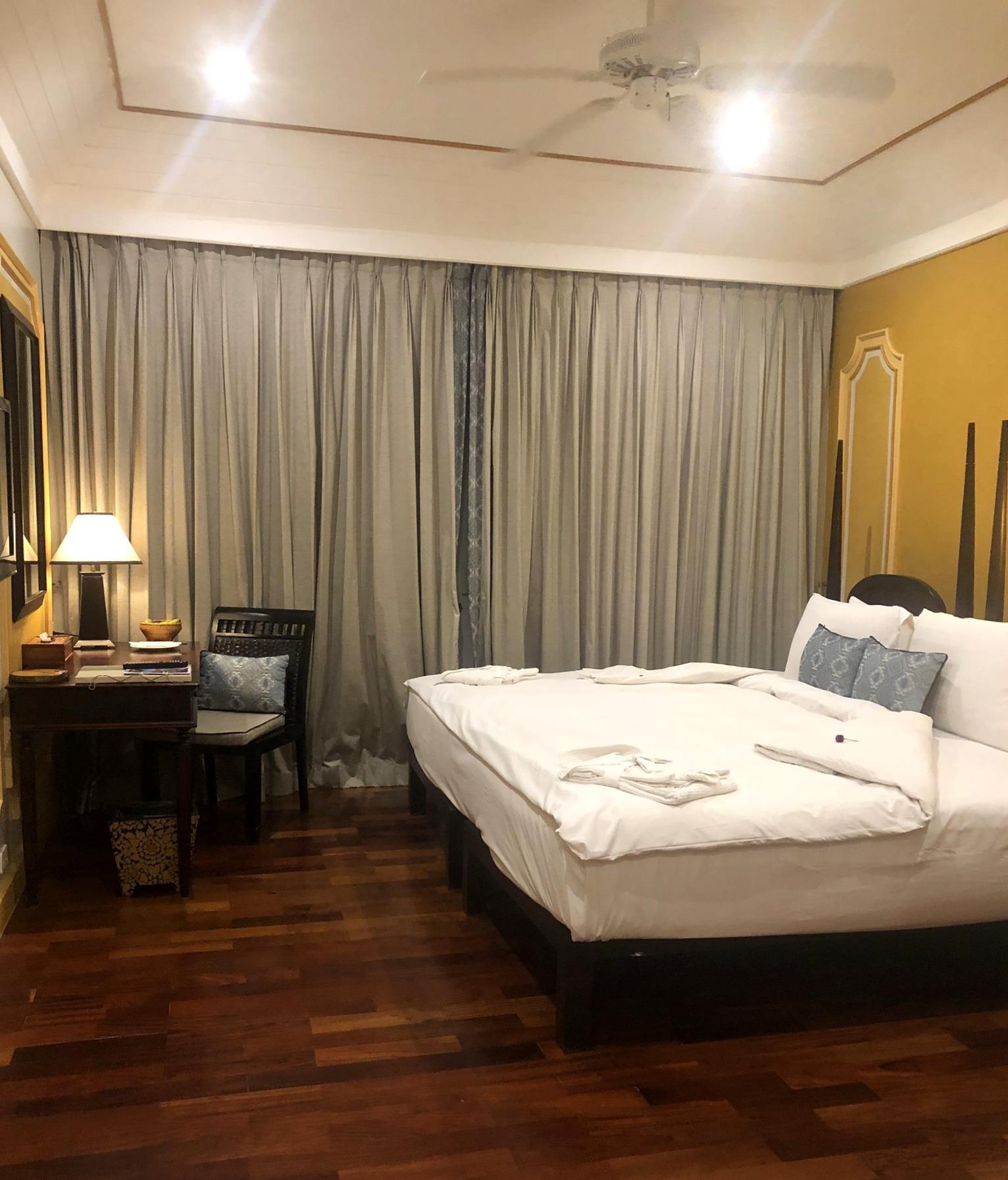 ラオスの旅 25  ルアンパバーンのホテル The Grand Luang Prabang_a0092659_20162332.jpg