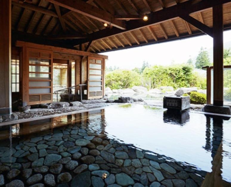 Open-air bath @梅園   最高の温泉でした♪_a0165160_20493763.jpg