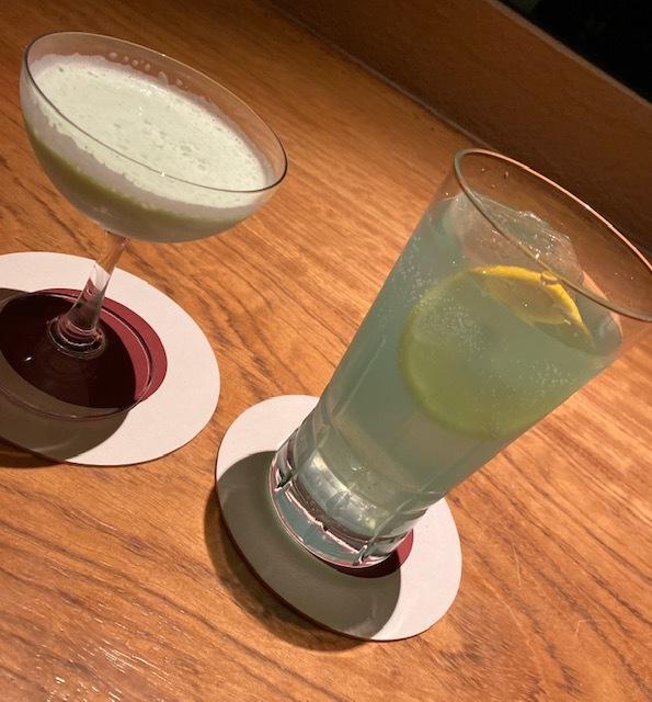 after dinner  @梅園 BARでカクテルを飲みながら_a0165160_22474097.jpg