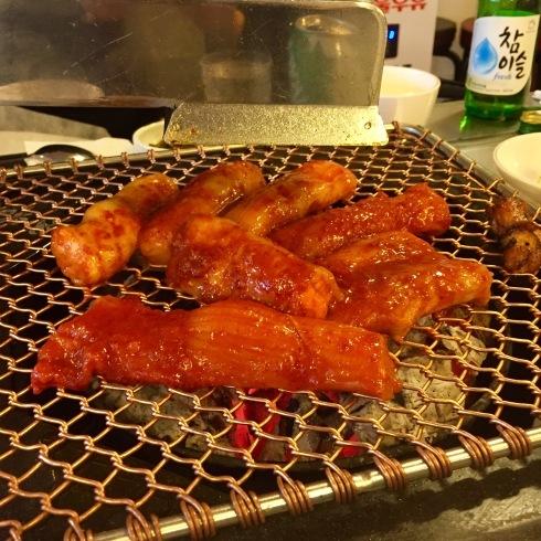 ソウル旅行 7 今大人気のコプチャン屋さん!「セグァンヤンデチャン」@新沙 美味しいーー!!_f0054260_11102613.jpg