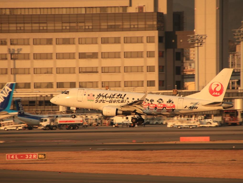 J-AIR エンブラエル170 がんばれラグビー日本代表_d0202264_18282424.jpg