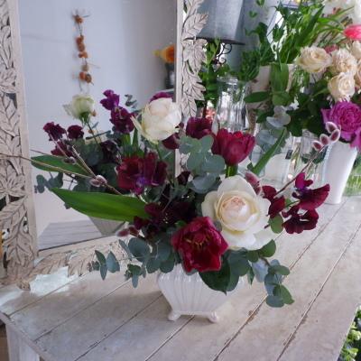 オークリーフ花の教室(山田さんの作品)_f0049672_15573768.jpg