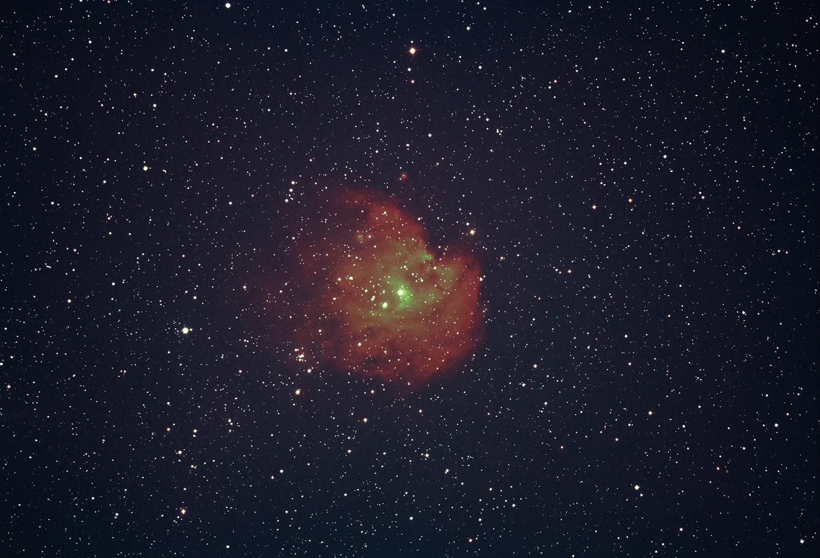 2月13日 久しぶりの天体写真_e0174091_21024244.jpg
