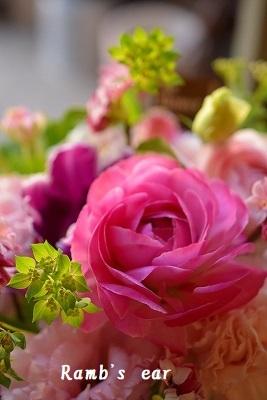 Valentine flower♪ 結婚49周年のお祝いに_e0128909_02341072.jpg