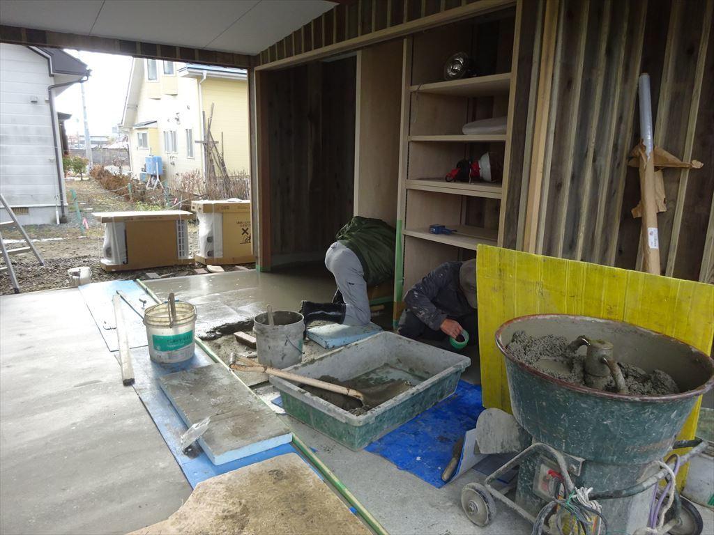 仙北町の家 工事完了へ!_f0105112_04483673.jpg