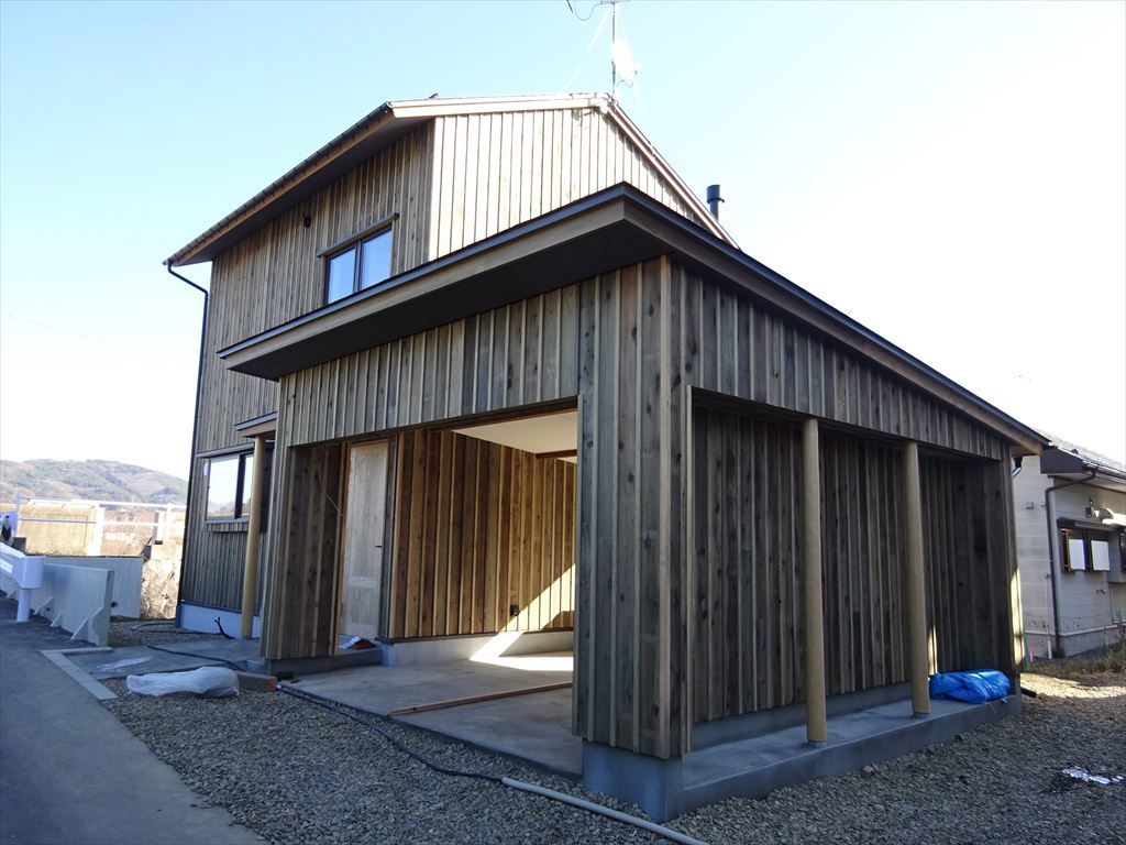 仙北町の家 工事完了へ!_f0105112_04484669.jpg
