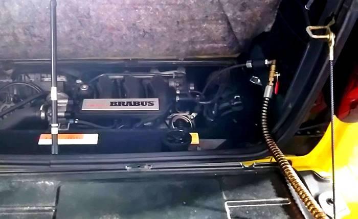 MCCスマート MC01フロントタイヤ内減り/450 BRABUSカブリオ オイル交換・他_d0345614_21505733.jpg