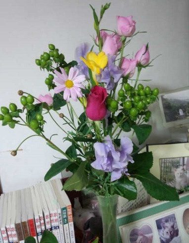 春はすぐそこ  大野英子_f0371014_07275084.jpg