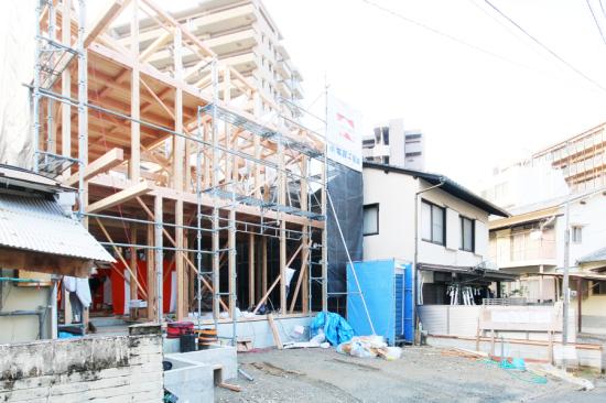 けやき通りの家の棟上げでした_e0029115_09481302.jpg