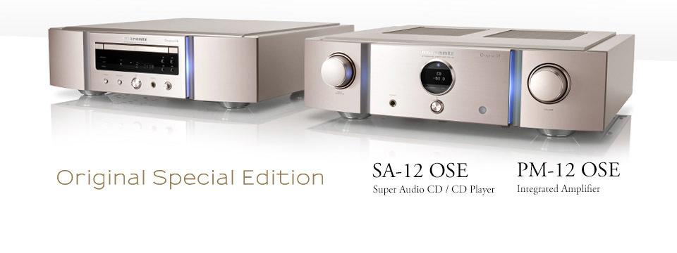 マランツ「SA-12 OSE」「PM-12 OSE」試聴しました_e0404728_15214478.jpg