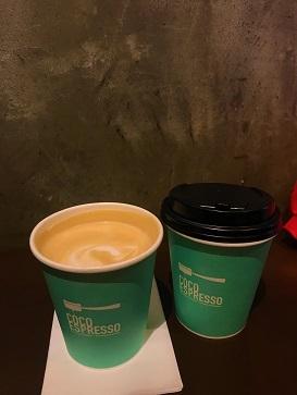 香港カフェ巡り40 新型肺炎3人に1人感染?計算しながらフラットホワイト@CoCo Espresso☆Cafe Explore 40 CoCo Espresso in Central_f0371533_12113730.jpg