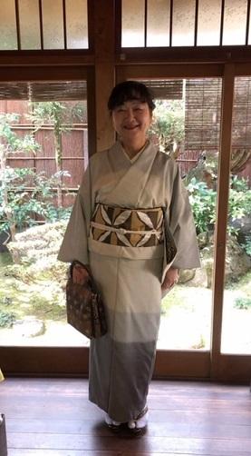 新年会・野田淳子さん・芝崎重一着物に楽風林帯。_f0181251_15402512.jpg
