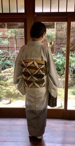 新年会・野田淳子さん・芝崎重一着物に楽風林帯。_f0181251_15411219.jpg