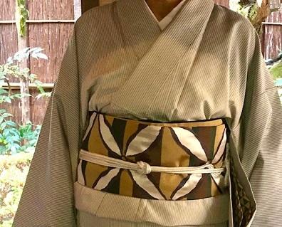 新年会・野田淳子さん・芝崎重一着物に楽風林帯。_f0181251_15420275.jpg