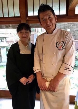 新年会・野田淳子さん・芝崎重一着物に楽風林帯。_f0181251_15474753.jpg