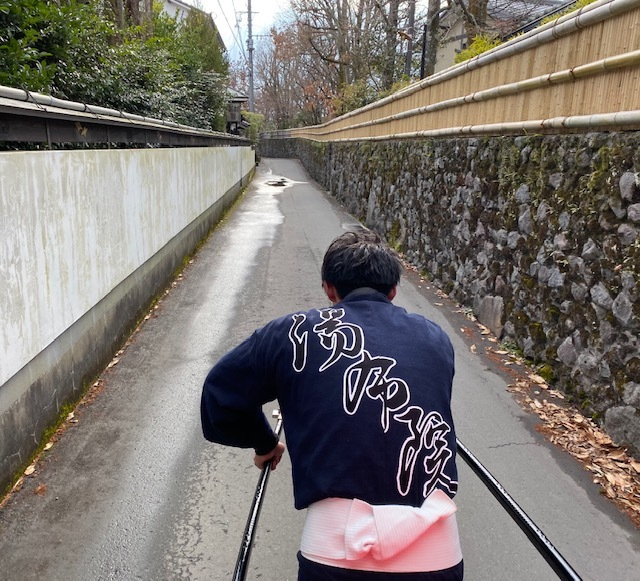 thank you   @由布院  人力車のおもてなし_a0165160_20451186.jpg