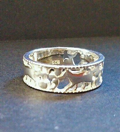 Silver ピンキーリング_d0345667_15461320.jpg