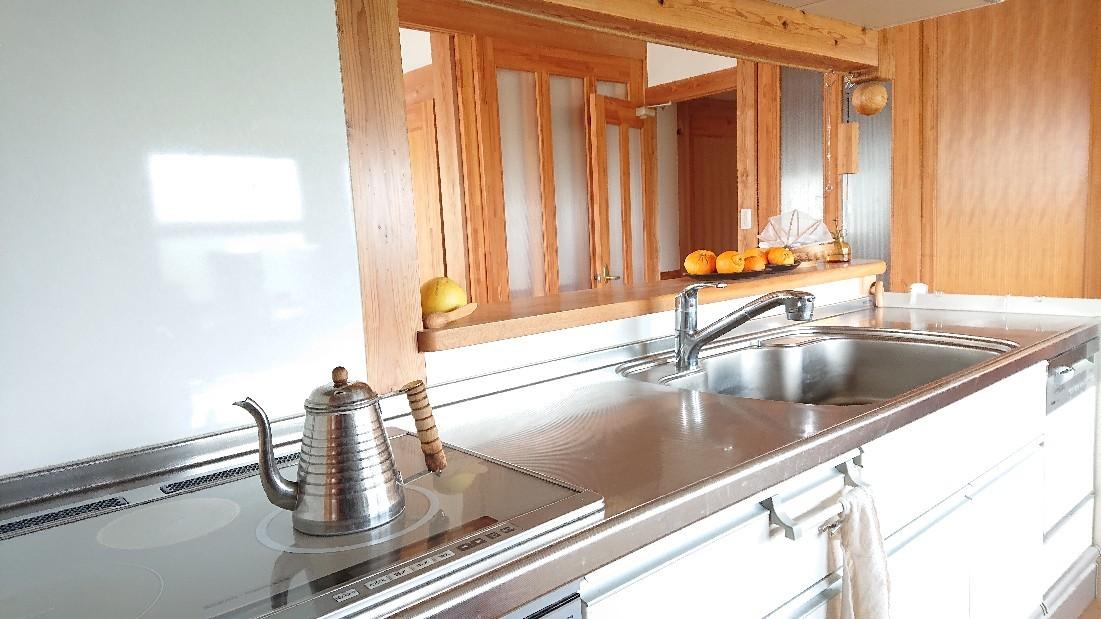 言葉と食のエネルギー in キッチン***_e0290872_17522479.jpg