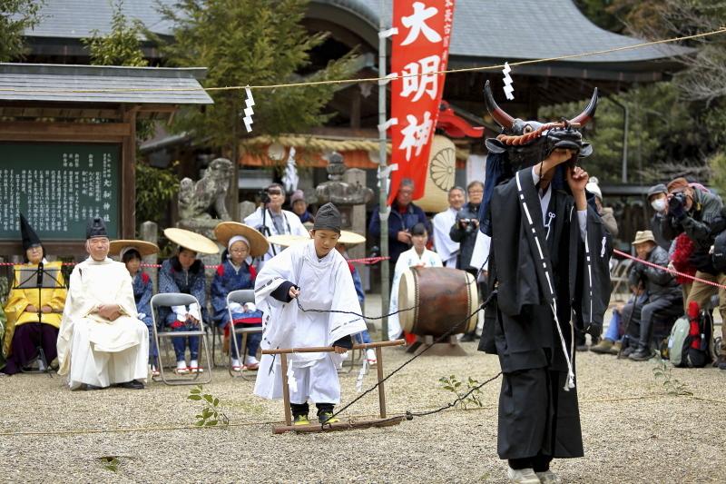 大和神社 御田植祭_c0196076_07503144.jpg