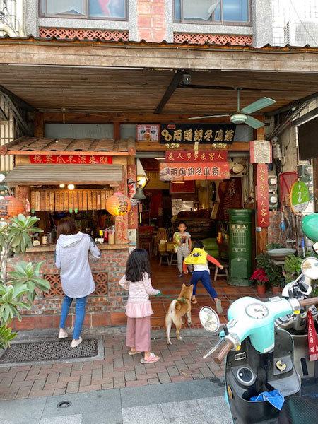 台湾(台南:赤崁楼周辺):赤崁擔仔麵「擔仔麵(タンツーメン)」「古早味麻油麺線」_b0089578_16484902.jpg