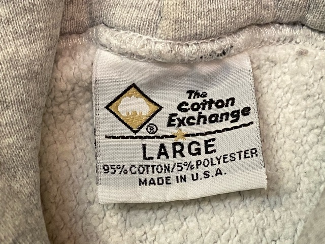 2月15日(土)マグネッツ大阪店スーペリア入荷!!#7 U.S.Made PrintSweat編!  The Cotton Exchange& Lee、RUSSELL!!_c0078587_14212870.jpg