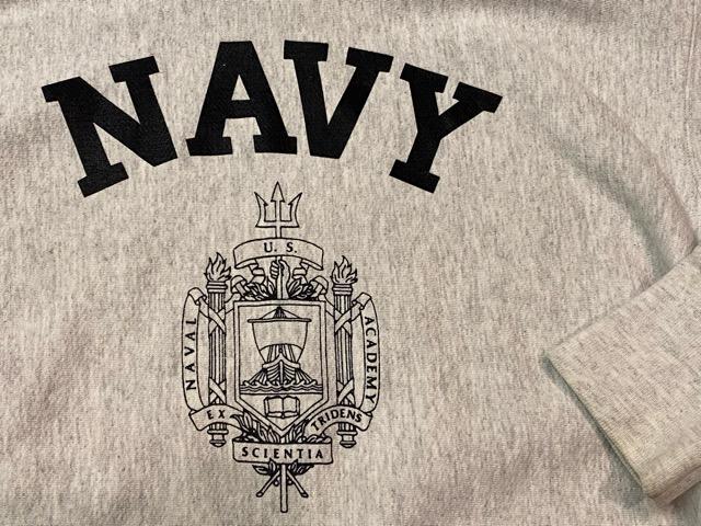 2月15日(土)マグネッツ大阪店スーペリア入荷!!#8 U.S.MilitarySweat編!  Navy、Army、AirForce、MarineCorps!!_c0078587_15472553.jpg