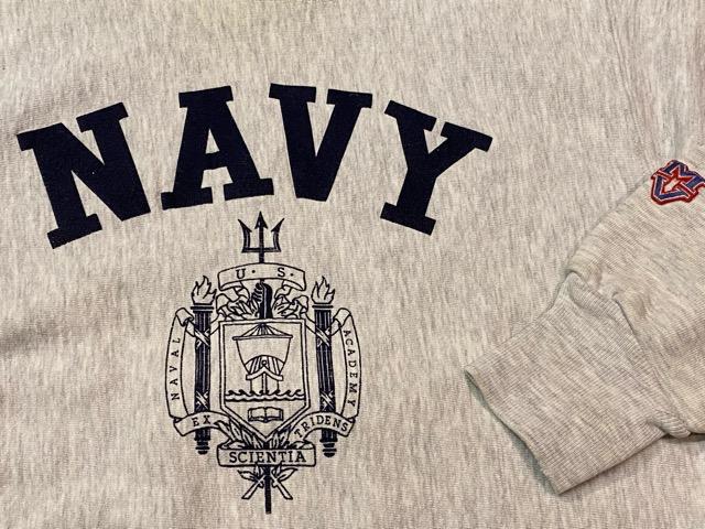 2月15日(土)マグネッツ大阪店スーペリア入荷!!#8 U.S.MilitarySweat編!  Navy、Army、AirForce、MarineCorps!!_c0078587_16131128.jpg