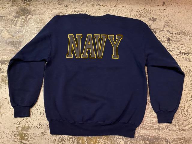 2月15日(土)マグネッツ大阪店スーペリア入荷!!#8 U.S.MilitarySweat編!  Navy、Army、AirForce、MarineCorps!!_c0078587_16255434.jpg
