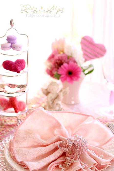 バレンタインデーのテーブルコーディネート_f0306287_00502537.jpg