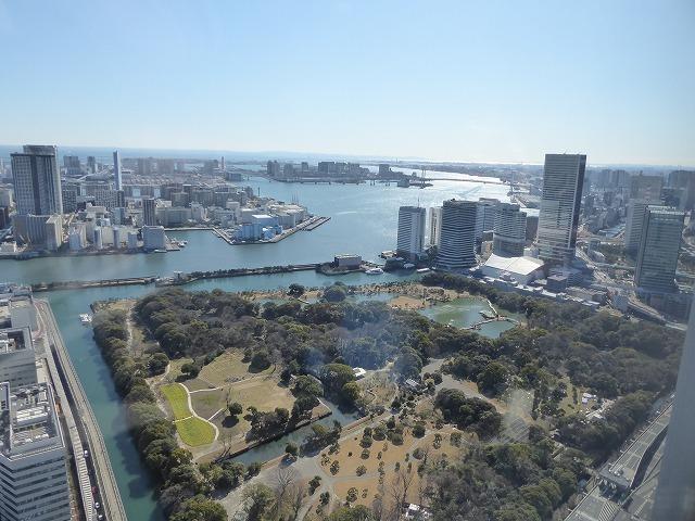 浜離宮に行く時は上から眺めてみたら♪カレッタ汐留のスカイビュー♪_b0287088_15573079.jpg