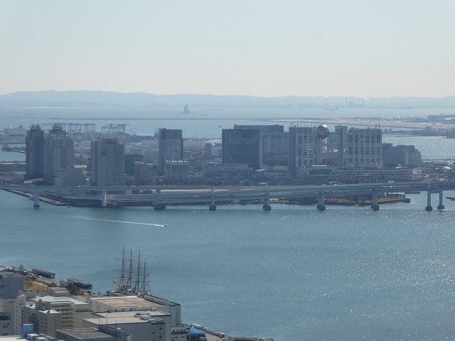 浜離宮に行く時は上から眺めてみたら♪カレッタ汐留のスカイビュー♪_b0287088_16075496.jpg