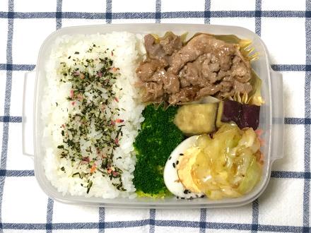 豚しょうが焼き弁当と「リテーナー」の話_d0384590_06302074.jpg