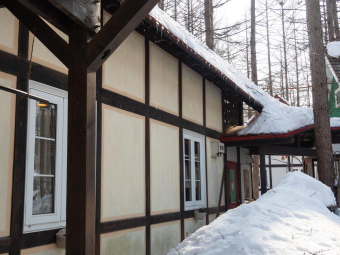 厳寒期の2月なのに・・記録的な暖かさで雪解けが進みます。_f0276498_20005063.jpg
