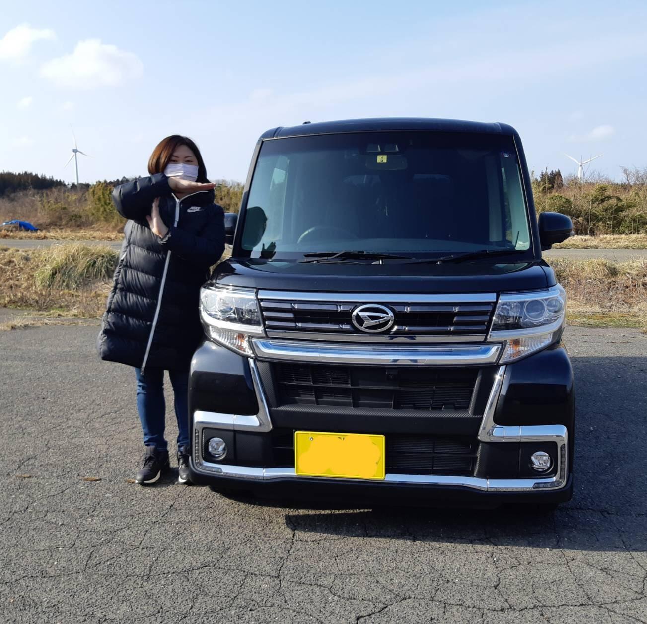 2月15日(土)T様タント納車✨ ランクル アルファード  ハマー TOMMY☆_b0127002_19354215.jpg