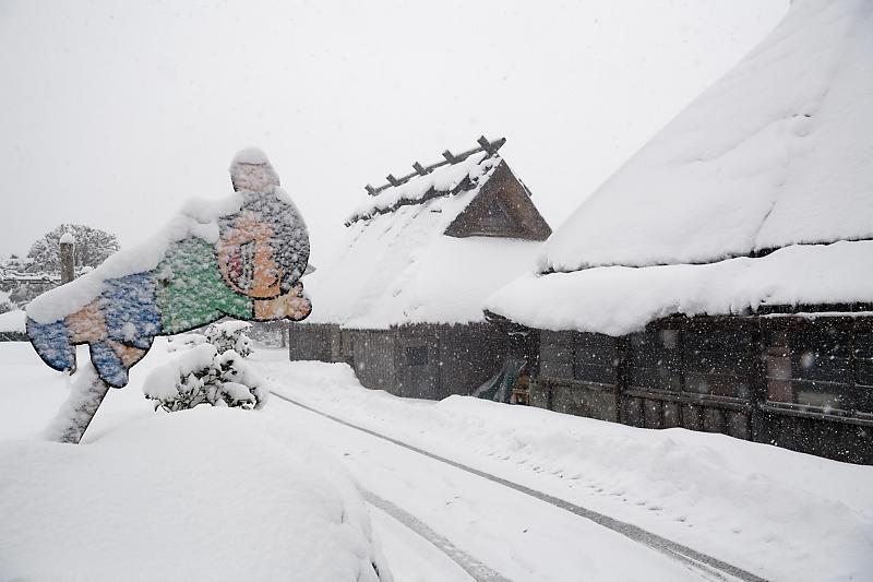 寒波到来!待望の雪景色@美山茅葺きの里 其の二_f0032011_16190953.jpg