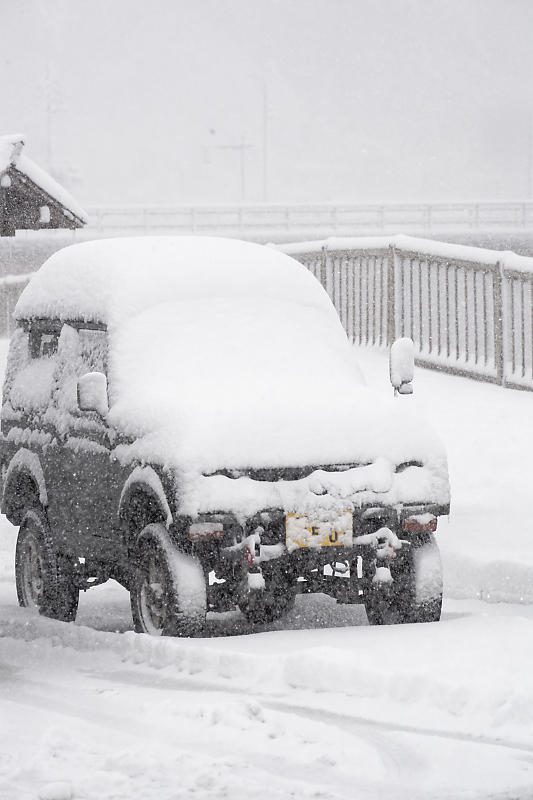 寒波到来!待望の雪景色@美山茅葺きの里 其の二_f0032011_16191056.jpg