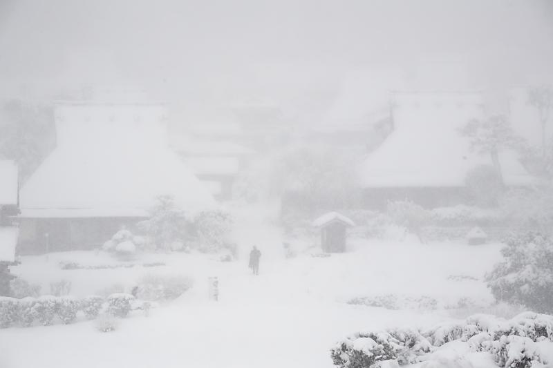寒波到来!待望の雪景色@美山茅葺きの里 其の二_f0032011_16253757.jpg