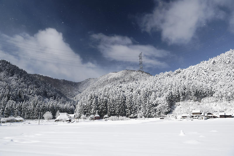 寒波到来!待望の雪景色@美山茅葺きの里 其の二_f0032011_16382661.jpg