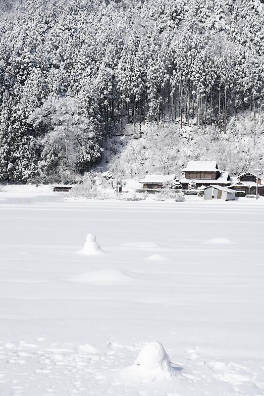 寒波到来!待望の雪景色@美山茅葺きの里 其の二_f0032011_16382688.jpg