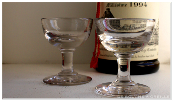 verre trompe-l\'oeil トロンプルイユのグラス その2 フランスアンティーク_d0184921_15201330.jpg