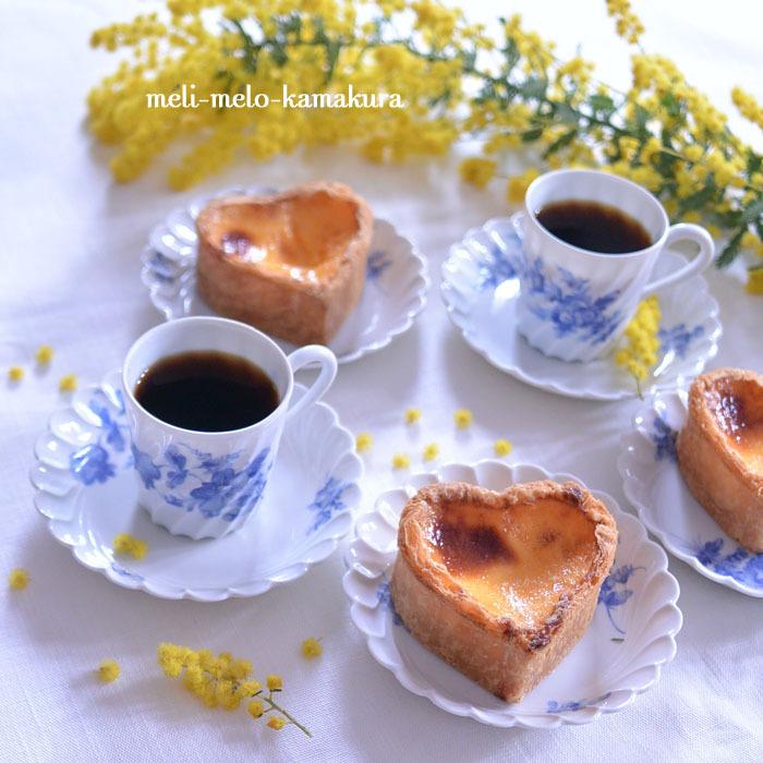 ◆フランスアンティーク*ミモザとお菓子とコーヒーと。_f0251032_16022410.jpg