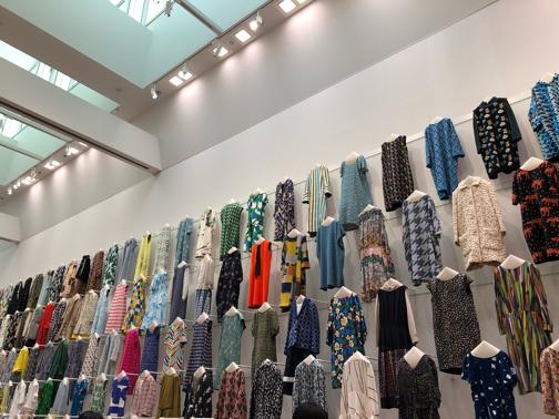 ミナペルホネン『つづく』展に出かけてきました♪(東京都現代美術館)_f0023333_21350007.jpg