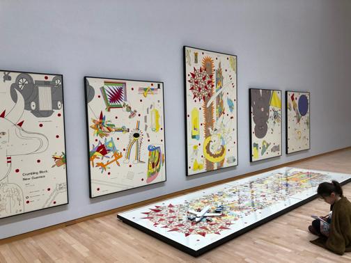 ミナペルホネン『つづく』展に出かけてきました♪(東京都現代美術館)_f0023333_21421020.jpg
