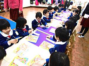 幼稚園の土曜日☆_e0325335_1154356.jpg